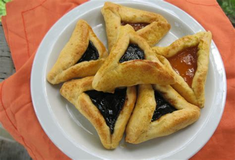 gluten  hamantaschen sugar  purim cookies