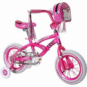 12 U0026quot  Hello Kitty Girls U0026 39  Bike  Pink - Walmart Com
