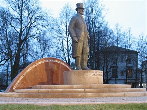 Arhitektu Birojs Vecumnieks & Bērziņi - Jāņa Čakstes piemineklis Jelgavā