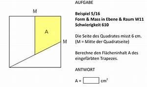 Auflagerreaktion Berechnen : geometrie fl cheninhalt von trapez in quadrat mathelounge ~ Themetempest.com Abrechnung