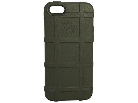 magpul iphone 5 magpul apple iphone 5 5s bump phone polymer od green