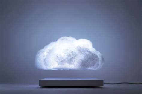floating cloud  electromagnetic cloud  hovers