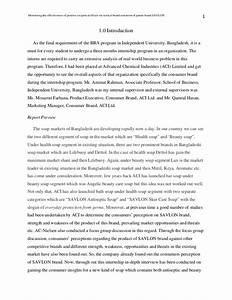 Internship Report By Nusrat Omer