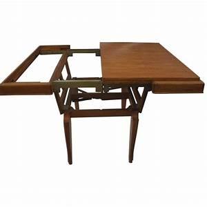 Table Basse Transformable En Table Haute : table basse vintage transformable ann es 50 design market ~ Teatrodelosmanantiales.com Idées de Décoration