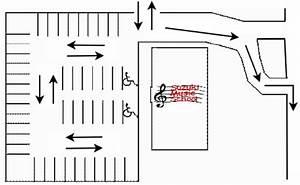 Parking Turning Radius Sketch Coloring Page
