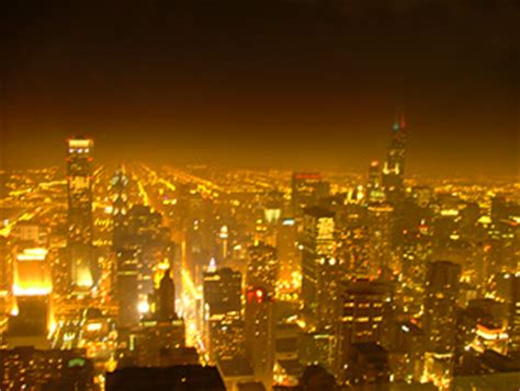 Light Pollution: A Shooting scar in the sky