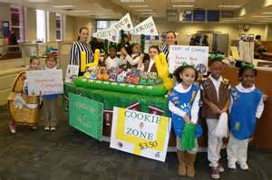 Girl Scout Cookie Booth Idea