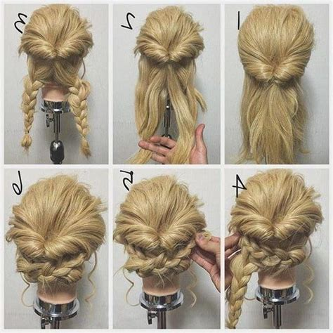 ideas  long hairstyles easy updos