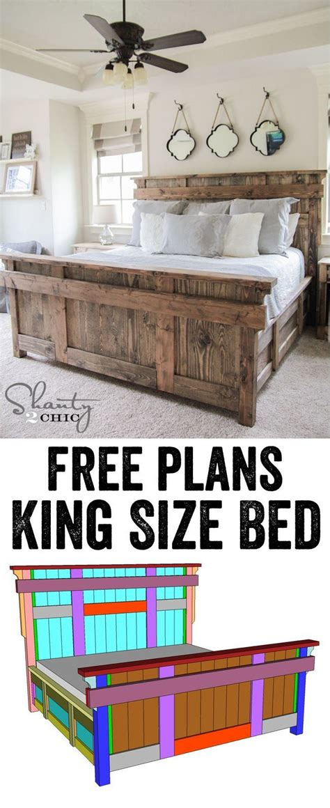 king size bed woodworking plans 1000 images about do it yourself on bathroom