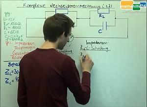 Gesamtimpedanz Berechnen : komplexe wechselstromrechnung 1 2 mathehilfe24 ~ Themetempest.com Abrechnung
