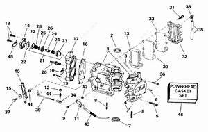 Evinrude 1993 8 - E8retb  Cylinder  U0026 Crankcase
