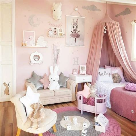 Diy Bedroom Decorating Ideas On A Budget - little girl bedroom ideas and adorable canopy beds for toddler girls easy diy ideas from involvery