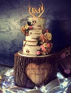 Country Wedding Cake - CakeCentral com