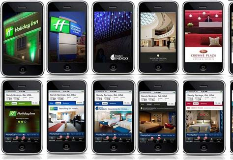 iphone brands ihg launches iphone booking apps for all brands