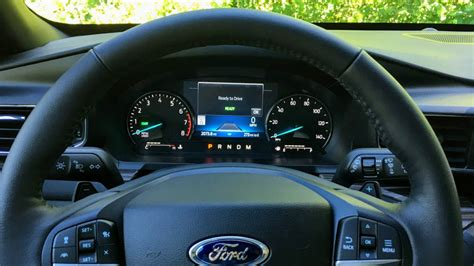 ford explorer hybrid  drive review muscle