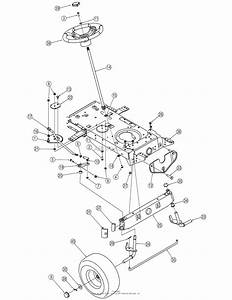 Mtd 13an771g755  2006  Parts Diagram For Steering