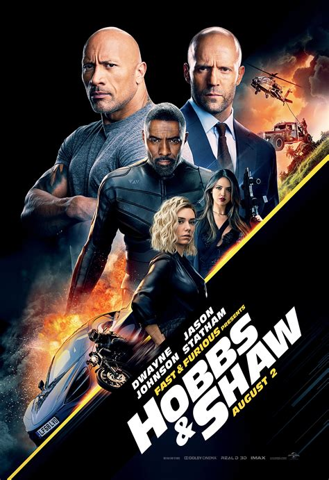 fast furious presents hobbs shaw production