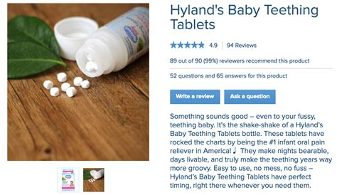 Food And Drug Administration Homeopathic Teething