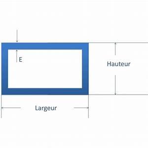 Tube Rectangulaire Acier Dimension : tube rectangulaire acier 50x30 mm comment fer ~ Dailycaller-alerts.com Idées de Décoration