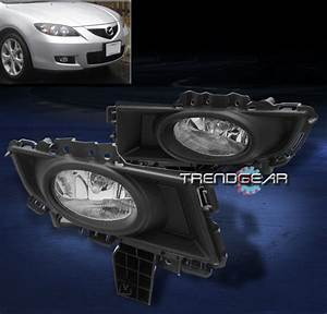Mazdaspeed 6 Lights 2007 2008 2009 Mazda 3 Mazda3 Sedan 4dr Bumper Fog Light