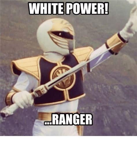 White Power Ranger Meme - white power ranger meme on sizzle