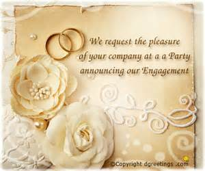 rings of wedding engagement invitation wording engagement party