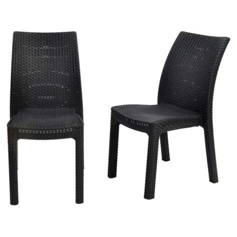 Keter High Chair Tesco by Buy Keter Toscana Rattan Effect Stacking Chair 2pk From