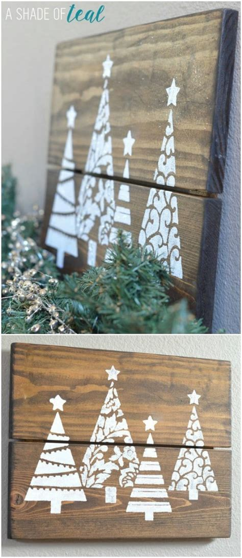 beautiful diy recycled wood christmas decorations
