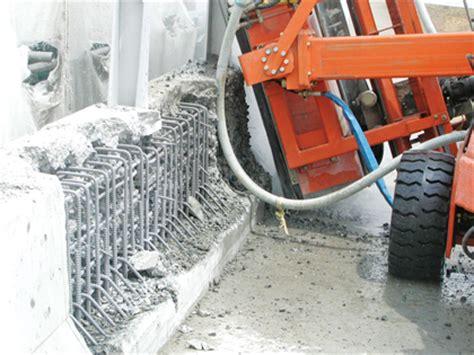 hydrodemolition equipment concrete hydro demolition