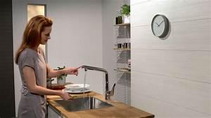 Hans Grohe Metris : hansgrohe metris select single lever kitchen mixer 320 14883000 youtube ~ Orissabook.com Haus und Dekorationen