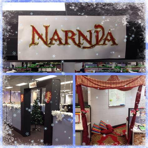 themes for christmas celebrations at office 1000 images about cubicle decoration ideas on santas workshop cubicles and