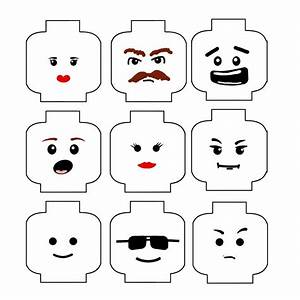 lego faces on pinterest lego head lego movie party and With lego figure template