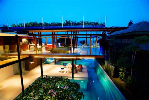 Tropical Home : Environmentally Friendly Modern Tropical House In
