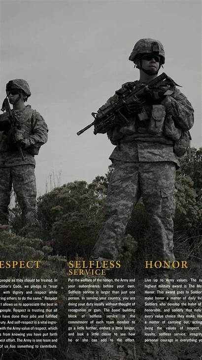 Army Wallpapers Iphone Ranger Values Infantry Android