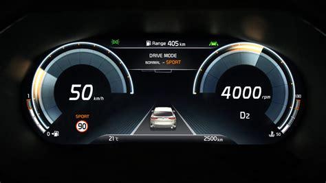 kia ups  tech game vw group rivalling digital cockpit