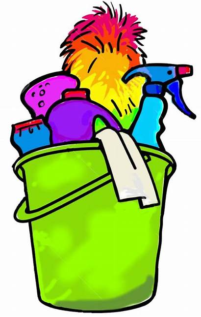 Bucket Clipart Cleaning Clip Domestic Services Sarah