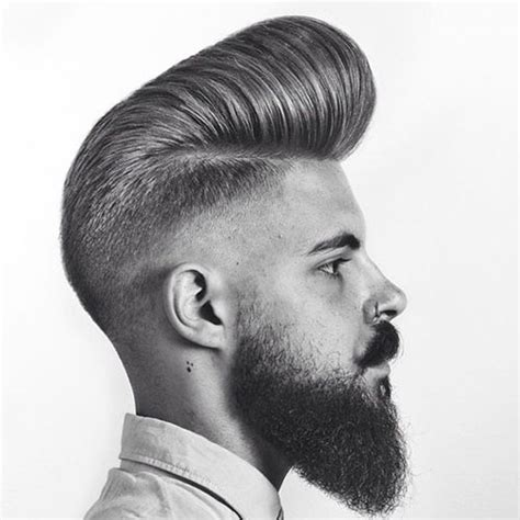 Pompadour Hairstyle For Men   Men's Haircuts   Hairstyles 2018