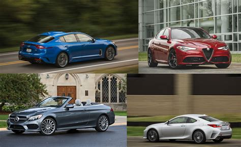 swank for less bank entry level luxury cars ranked flipbook car and driver