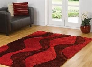 tapis shaggy style et confort dans espace maison 23 photos With tapis shaggy avec canapé multifonction