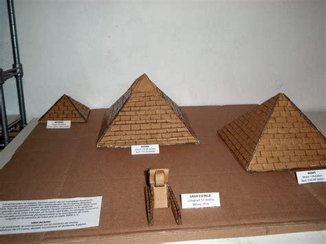 de una maqueta de egipto maquetas dibujos y dise 209 os piramides de egipto maqueta
