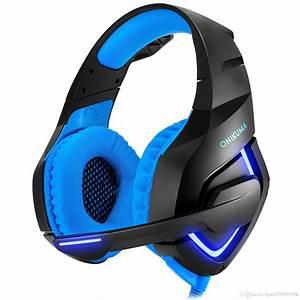 Gutes Ps4 Headset : onikuma pc gaming headset for ps4 xbox one stereo ~ Jslefanu.com Haus und Dekorationen