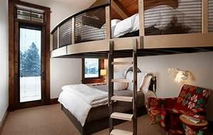 Petit Lit 2 Places : 1001 jolies id es comment am nager votre chambre mezzanine ~ Teatrodelosmanantiales.com Idées de Décoration