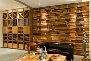 une decoration en bois pour le mur archzinefr With bois decoratif pour mur