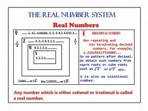 The Real Number System  U2014 Steemit