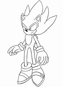 Sonic Unleashed Coloring Pages - AZ Coloring Pages