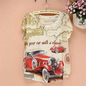 Free Tee Shirt Design Discount Price 2015 Summer Tee Women Novelty T Shirt Old