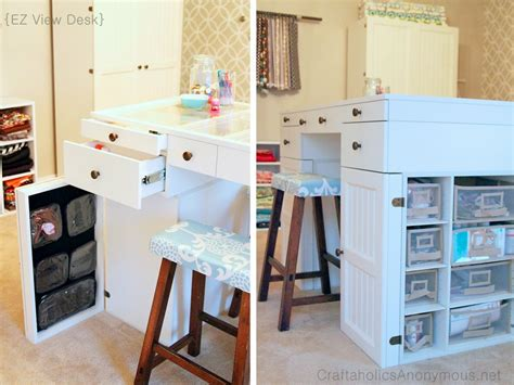Crafts Desk by Craft Room
