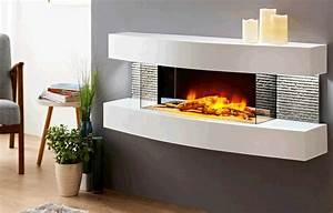 cheminee electrique murale design lounge cheminarte With salle de bain design avec cheminée décorative électrique pas cher