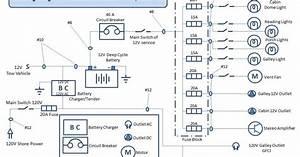 Chuck U0026 39 S Teardrop Build  Electrical Diagram