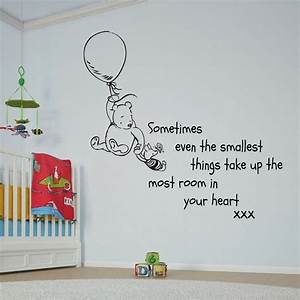 Disney Winnie t... Large Vinyl Wall Quotes